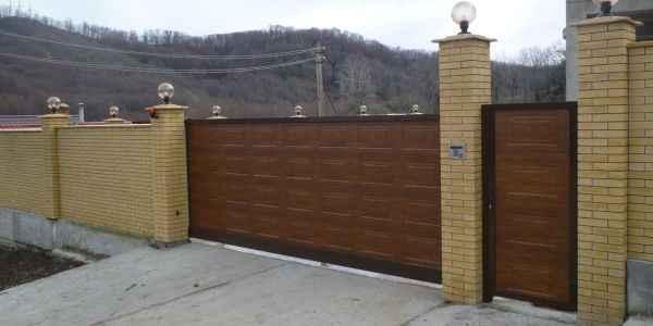 Откатные ворота в Барнауле