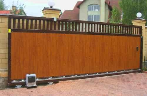 Дизайн ворот в Барнауле